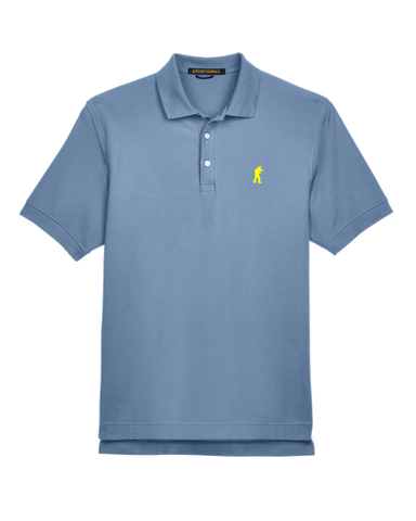 Image of Classic Mesh TactiPolo - Slate Blue