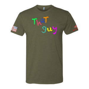 THAT GUY Crayon Shirt (OD OR CHARCOAL GRAY)