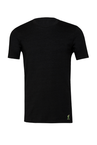 TactiPolo Perfect Tri-blend - Heather Black
