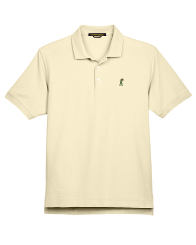 Image of Classic Mesh TactiPolo - Cream