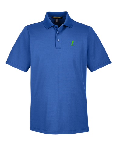 Image of Performance-Fit TactiPolo - Royal Blue