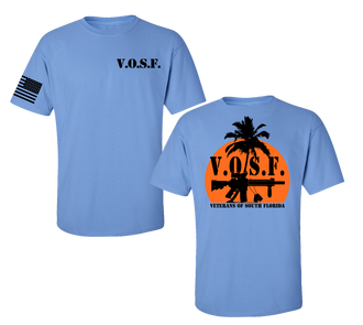 VETERANS OF SOUTH FLORIDA (VOSF) SUMMER T-SHIRT
