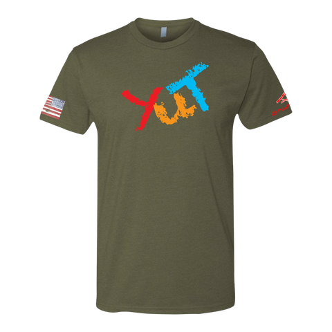 Image of YUT -Crayon Shirt (OD OR CHARCOAL GRAY)