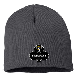 Custom Embroidered Bastogne  Knit Beanie