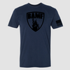 BAMF logo shirt (Blue/Black)