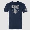 BAMF logo shirt (Blue/Gray)