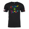 CRAYONS R YUMMY Crayon Shirt (OD OR CHARCOAL GRAY)