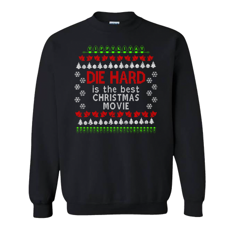 "Die Hard Ugly Christmas ""Sweater"""