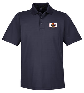 G4G Performance-Fit Polo -Navy Blue/White