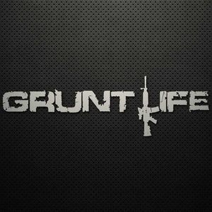 "12""-16"" GRUNT LIFE DECAL"