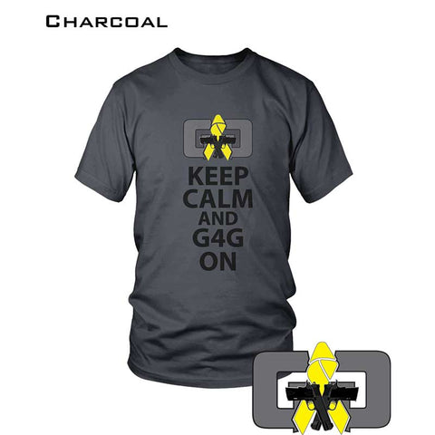 Image of KEEP CALM AND G4G ON - TSHIRT