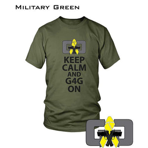 KEEP CALM AND G4G ON - TSHIRT