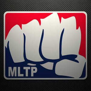 MAJOR LEAGUE THROAT PUNCH DECAL