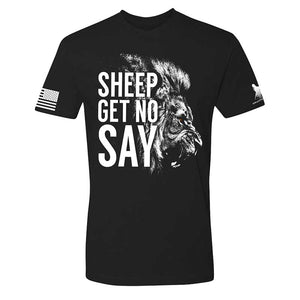 Sheep Gets No Say Men's Shirt