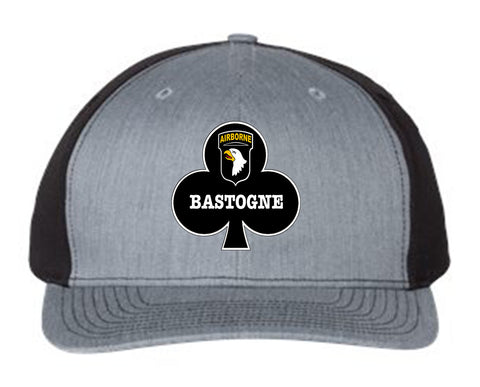 Image of Bastogne Twill Back Trucker Hat