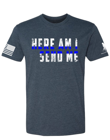 Image of Here Am I-Blue Line