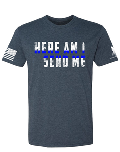 Here Am I-Blue Line