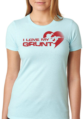 I Love My Grunt T-Shirt