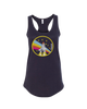 NASA Rainbow-Ladies Racer Back Tank