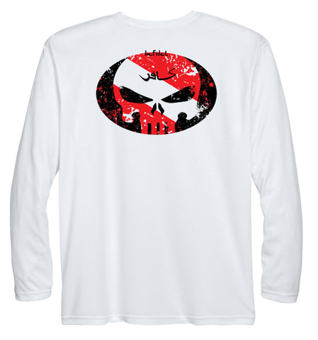 Image of INFIDEL DIVER PERFORMANCE DRY-FIT LONGSLEEVE