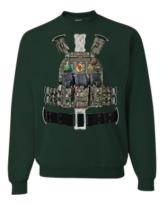 Tactical Santa Sweatshirt