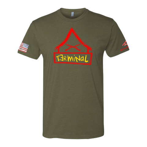 Image of TERMINAL LANCE CORPORAL -Crayon Shirt (OD OR CHARCOAL GRAY)