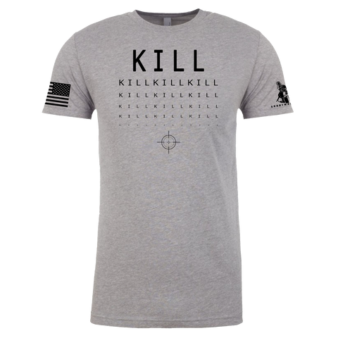 Image of MIlitary Eye Chart - Kill Shirt