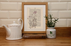 Cuckoo flower Cheshire county flower print