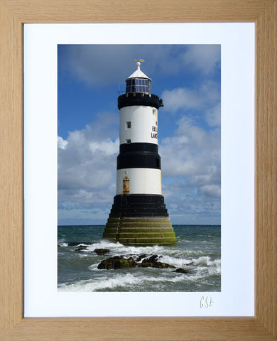 'Penmon Point lighthouse' print