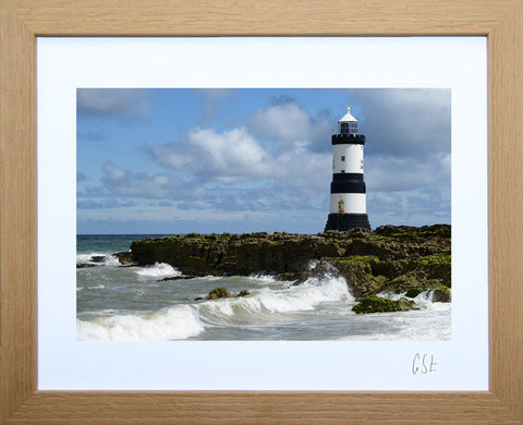 'Waves at Penmon Point' print
