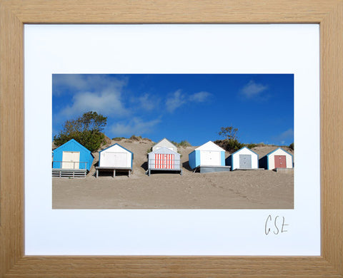 'Summer on Abersoch beach' print