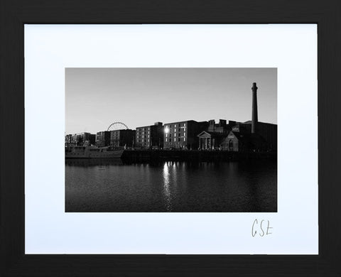 'Albert Dock at sunrise' print