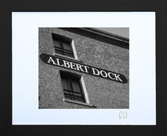 'Brickwork at the Albert Dock 1' print