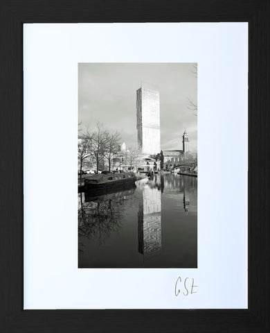 'Reflections of the Beetham Tower' print