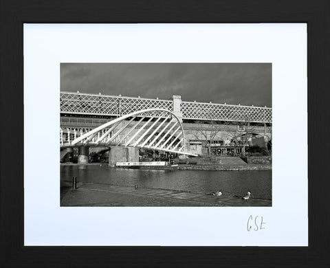 'The Castlefield Bridge' print
