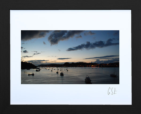 'Sundown in Conwy Harbour' print