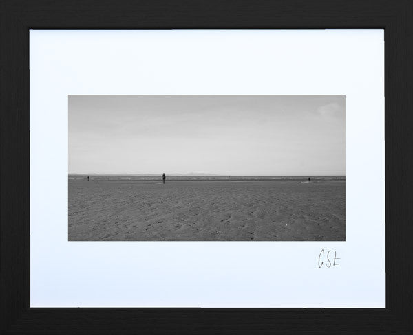 'Solitude on Crosby Beach' print