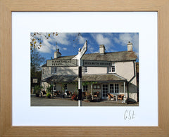 'Welcome to the Drunken Duck Inn' print