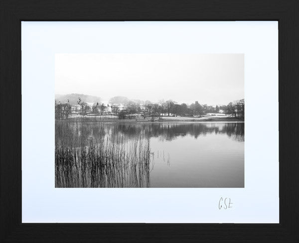 'Reflections on Esthwaite Water' print