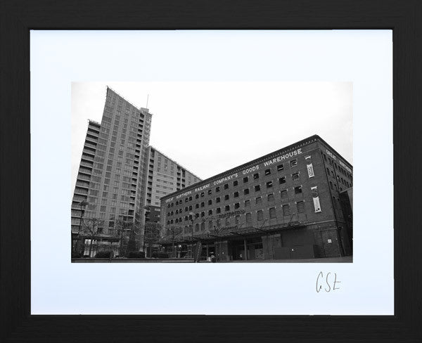 'Great Northern juxtaposition' print