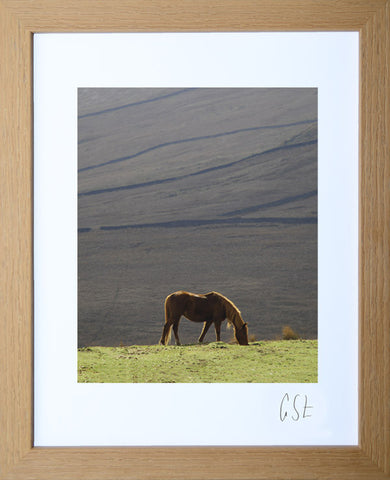 'Grazing on the Kirkstone Pass' print