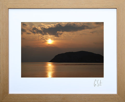 'Little Orme at sunrise' print