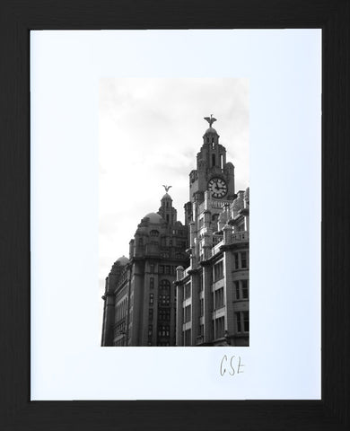 'Afternoon sun on the Liver Building' print