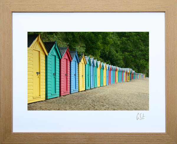 Picture of Llanbedrog beach huts