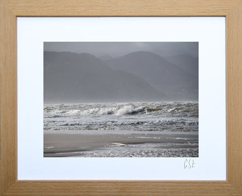 'West Shore wave' print