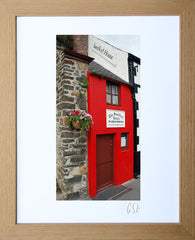 'The Smallest House, Conwy' print
