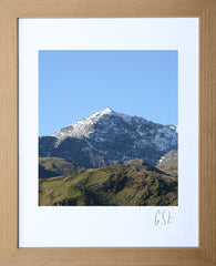 'Snowdon on a perfect winter day' print