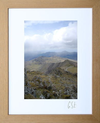 'View over Snowdonia' print