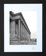 'Outside St George's Hall, Liverpool' print