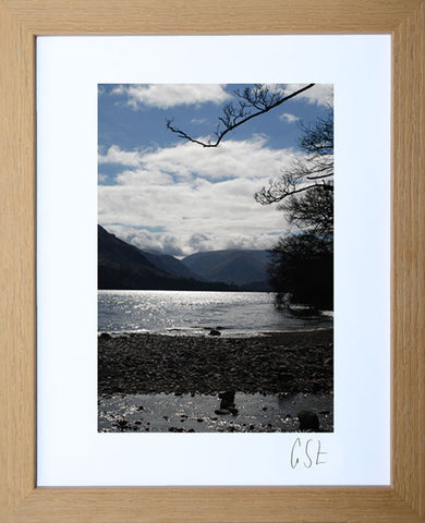 'Blue sky over Ullswater' print
